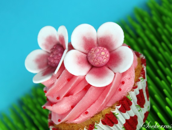 Saftiga Vaniljcupcakes