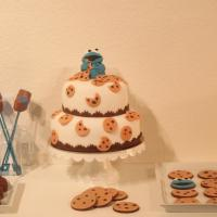 Dessert Table with the Cookie Monster