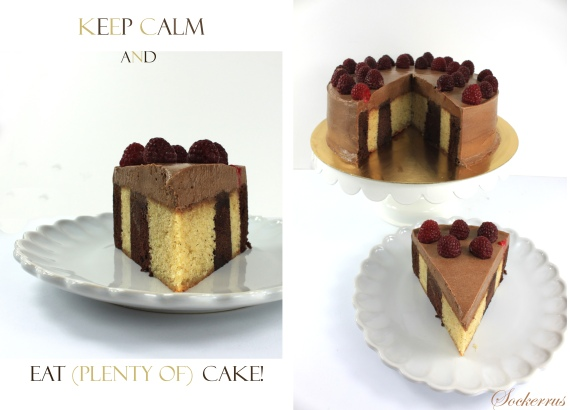 Vertical Layer Cake Sockerrus