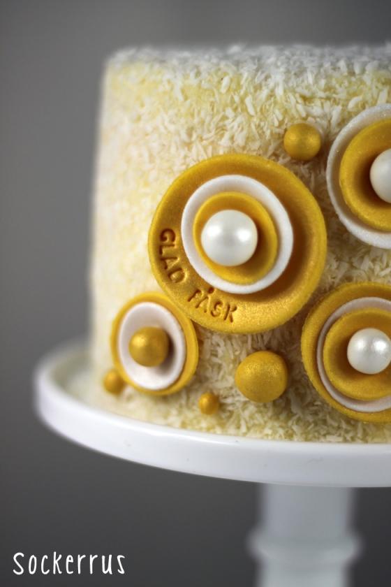påsktårta easter cake ombre cake
