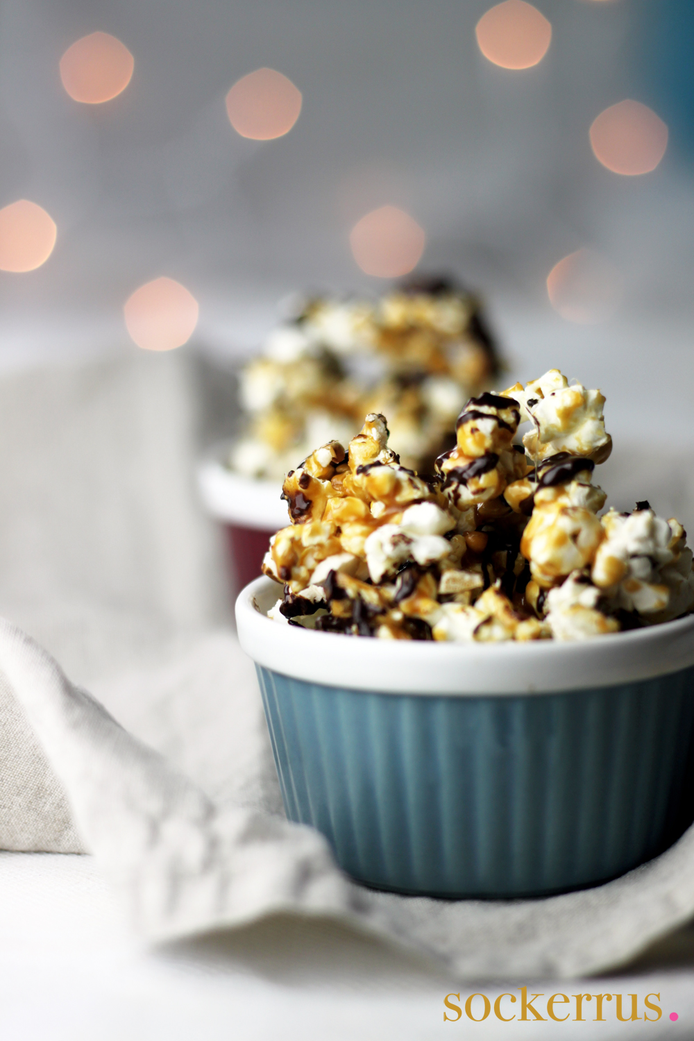 Chocolate & Caramel Popcorn