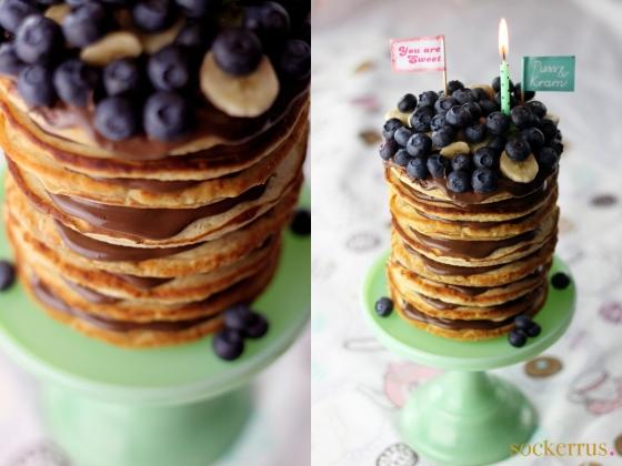 American Banana Pancakes by sockerrus