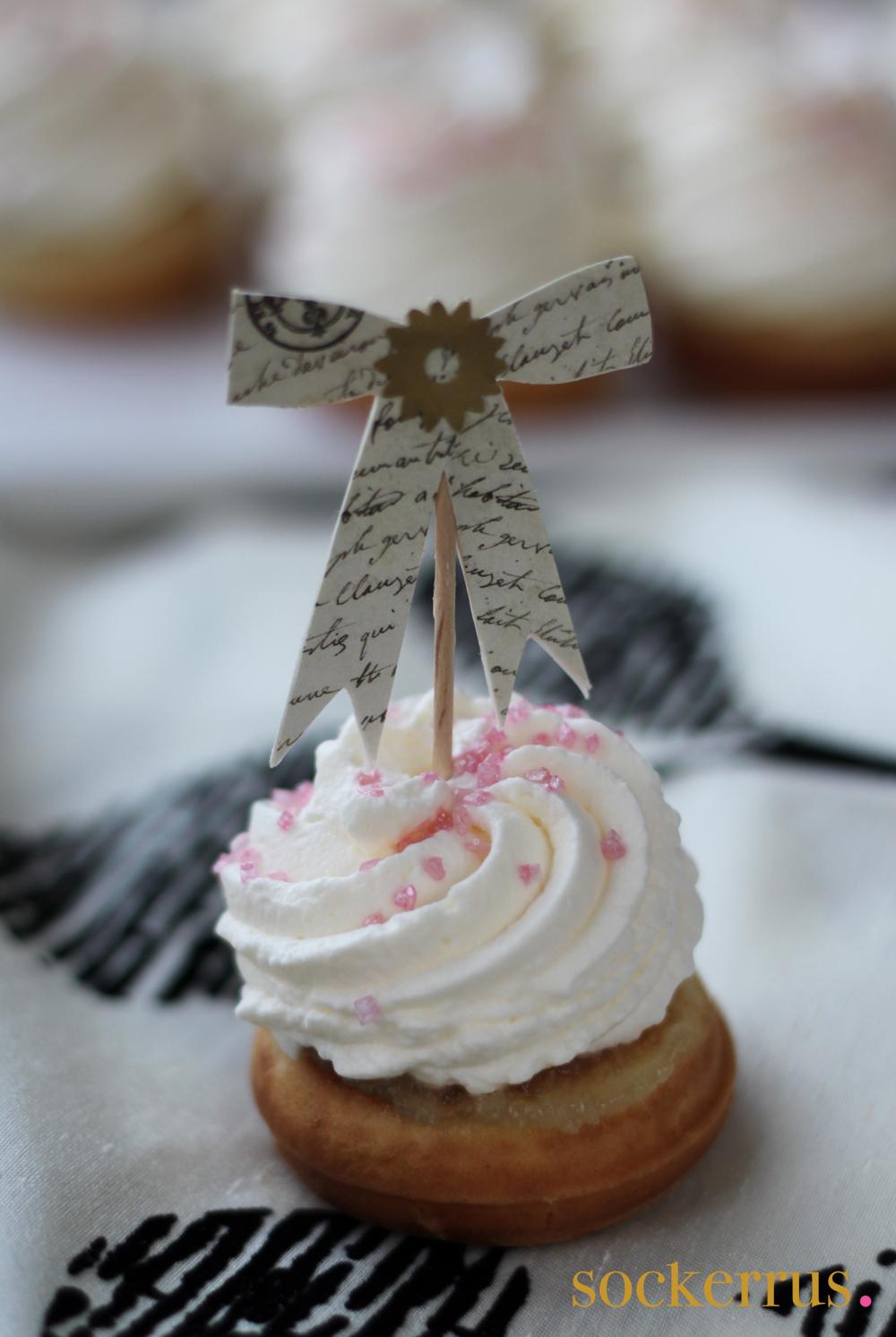 Donut munk mini Semla
