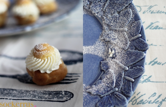profiteroles semlor cream puffs gordon ramsay