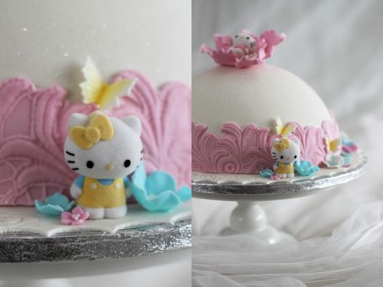 Hello Kitty tårta  barntårta