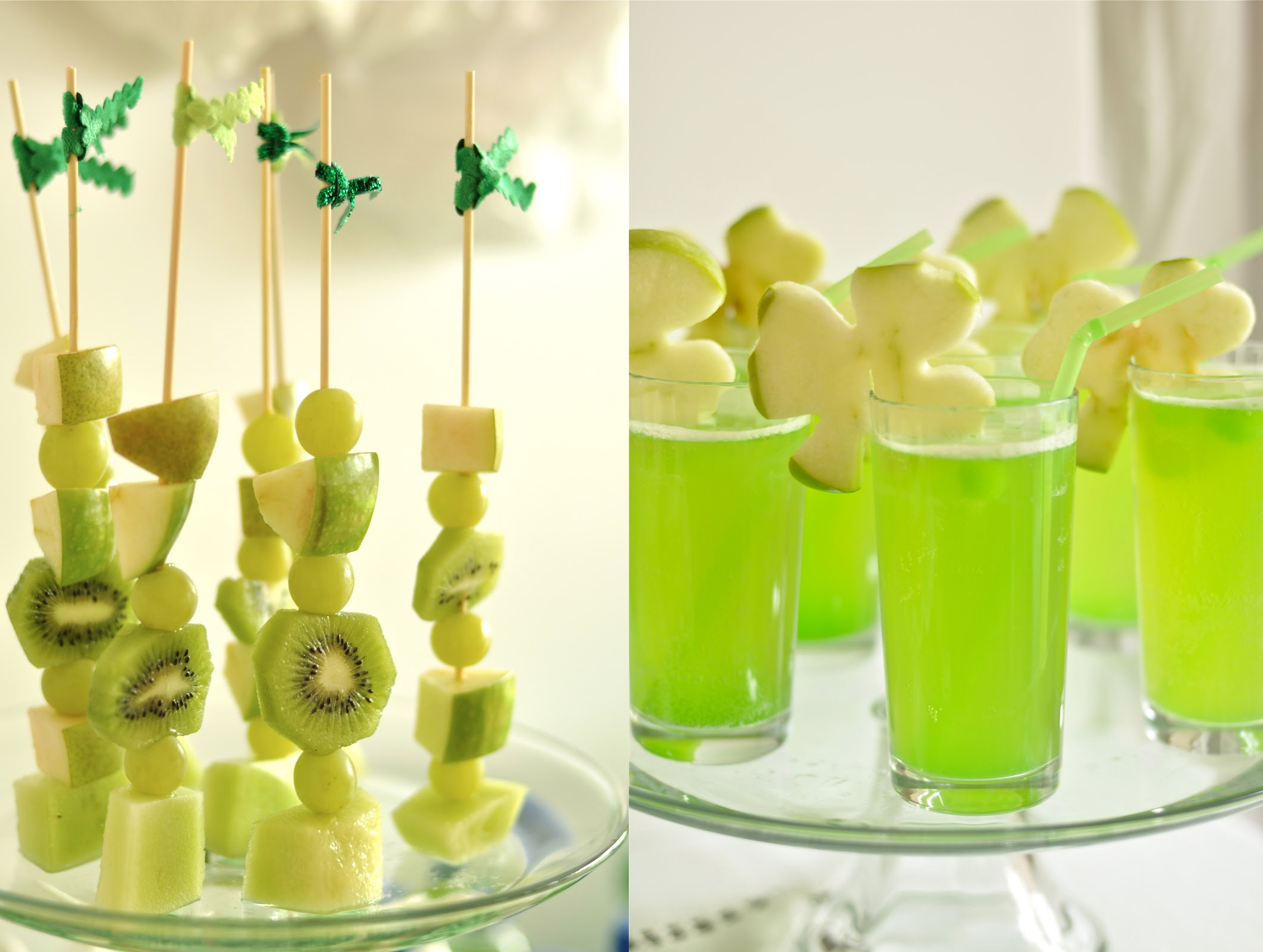 Paddys day dessert table