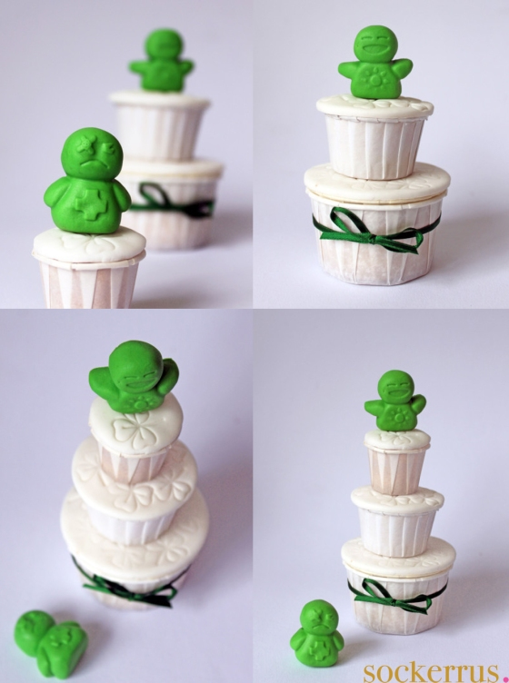 Paddys Day cupcakes
