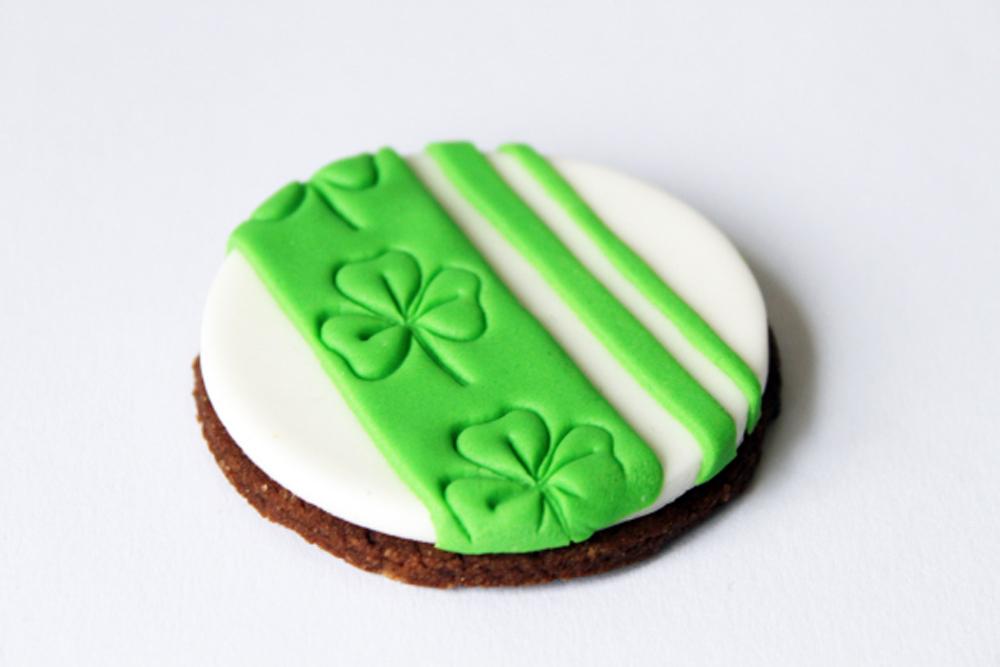 Shamrock cookie